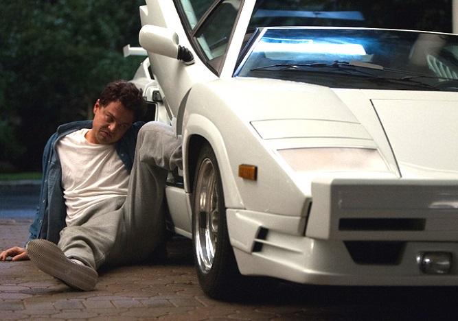 Wilk z Wall Street - biały Lamborghini Countach