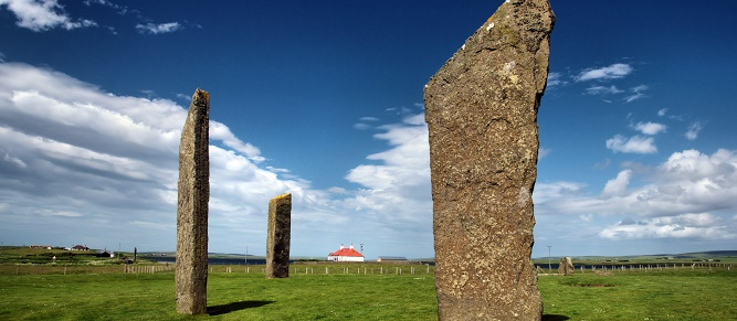 16 - Standing Stones of Stenness na Orkadach. (1)