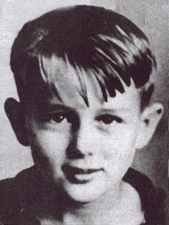 James Dean jako chłopiec
