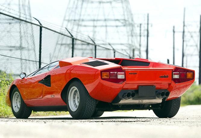 tył Lamborghini Countach'a