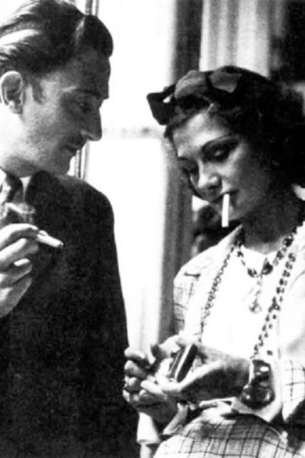 Coco Chanel z Salvadorem Dali