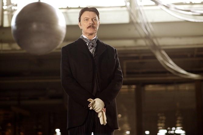 David Bowie jako Nikola Tesla w filmie Prestiż