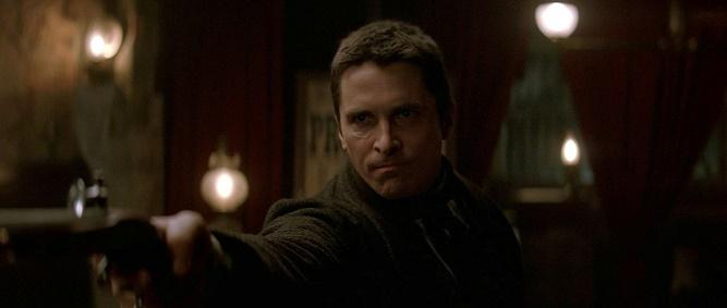 Christian Bale w filmie Prestiż