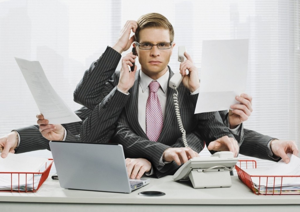 multitasking w biurze