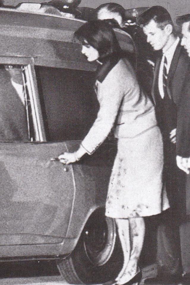 Jackie Kennedy w dniu śmierci męża