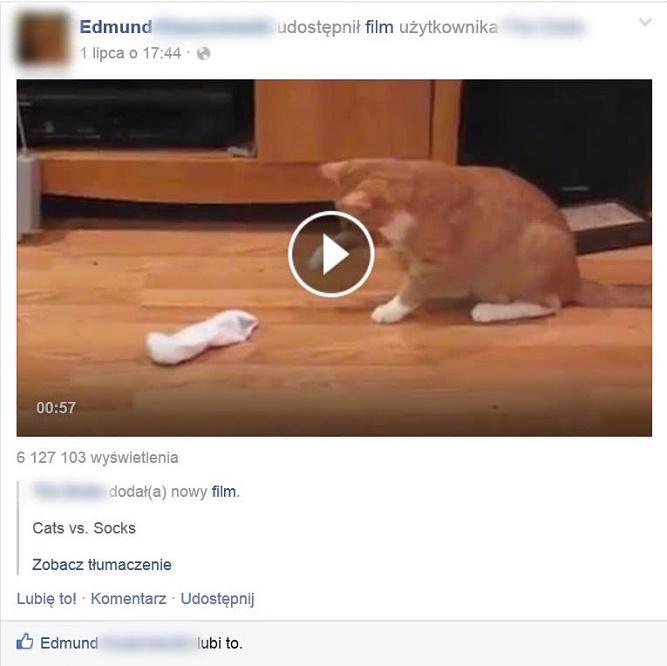 Edmund lubi link, który sam zamieścił <facepalm>