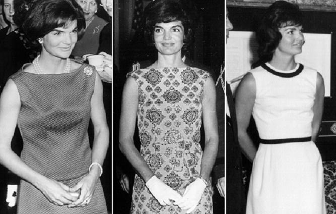Jackie Kennedy w trzech kreacjach