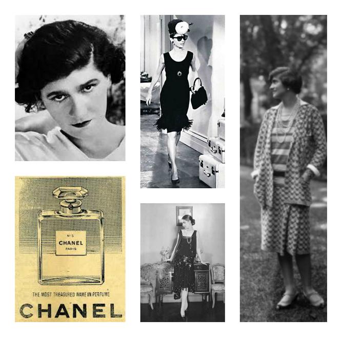 kolaż Chanel