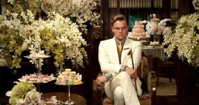 LEONARDO DiCAPRIO jako Jay Gatsby