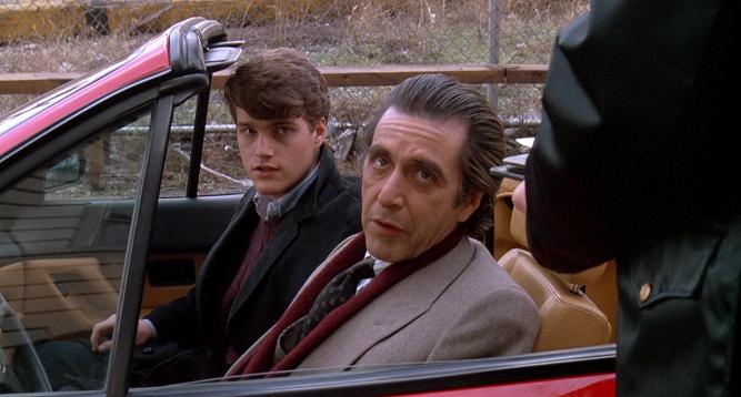 Al Pacino i Chris O'Donell w filmie Zapach kobiety