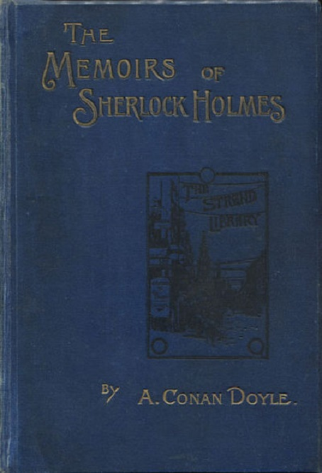 okładka książki The Memoirs of Sherlock Holmes