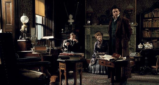 kadr z filmu Sherlock Holmes