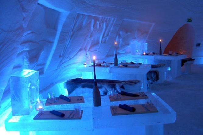 Lainio-Snow-Village-Ice-Restaurant-Ylläsjärvi-Finland