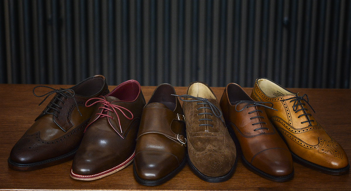 wszystkie odcienie brązowych butów