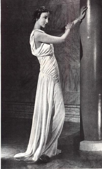 biała suknia Madeleine Vionnet