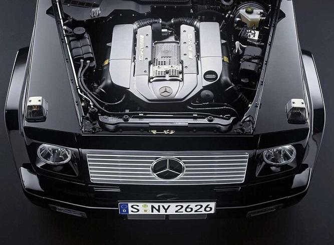 Mercedes G AMG silnik