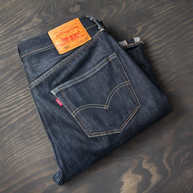 Jeansy Levis-501
