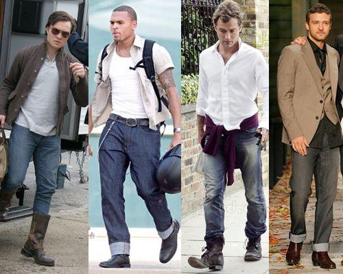 jak nosi się jeansy