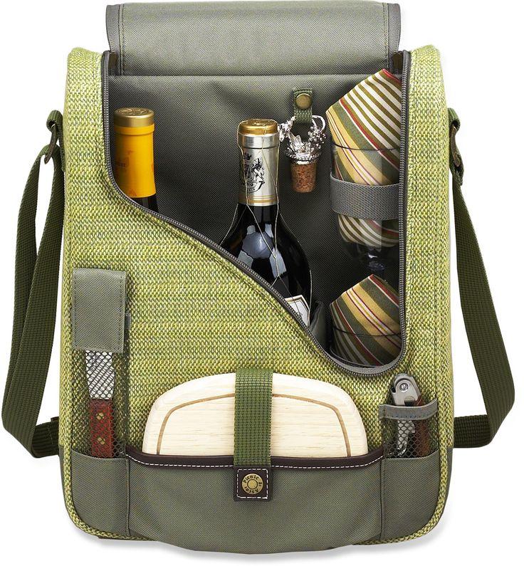 pomysł na prezent dla kobiet - zestaw do wina w plecaku