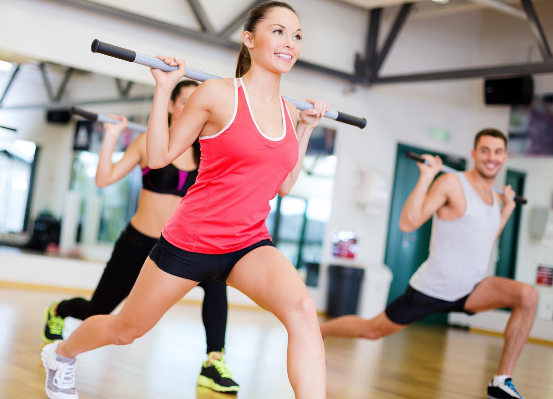 karnet fitness dla kobiety
