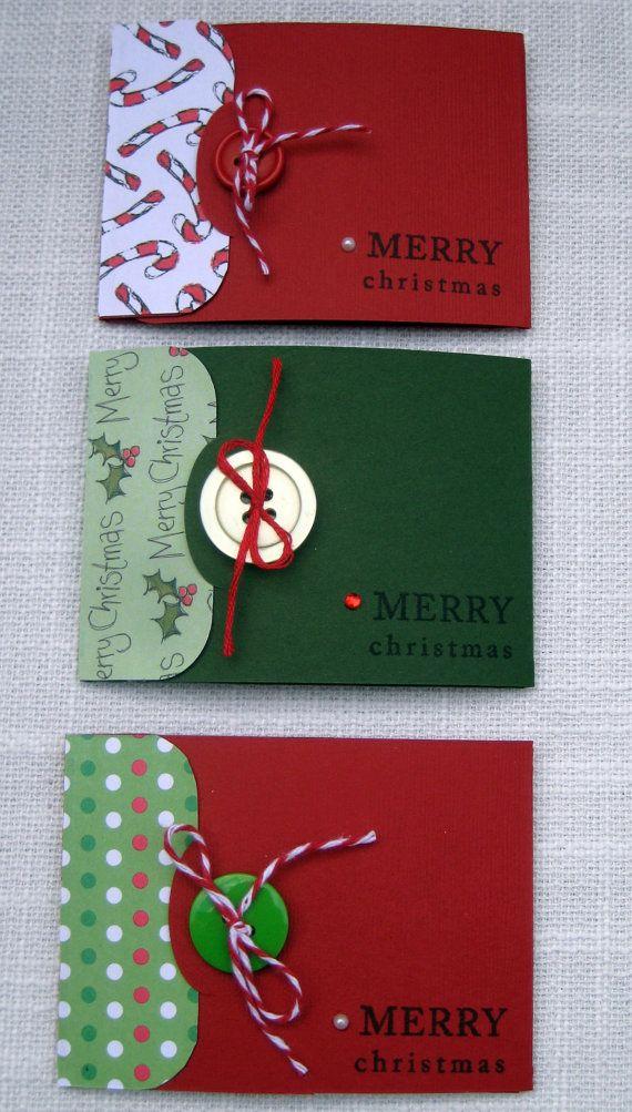 karty prezentowe w różnych kolorach