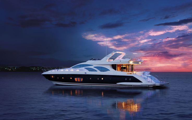 ekskluzywny prezent dla kobiety - jacht