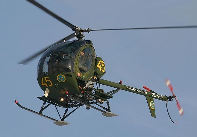 Hughes TH-55 Osage był jedną z bardziej udanych konstrukcji Hughes Helicopters fot.wikipedia.org
