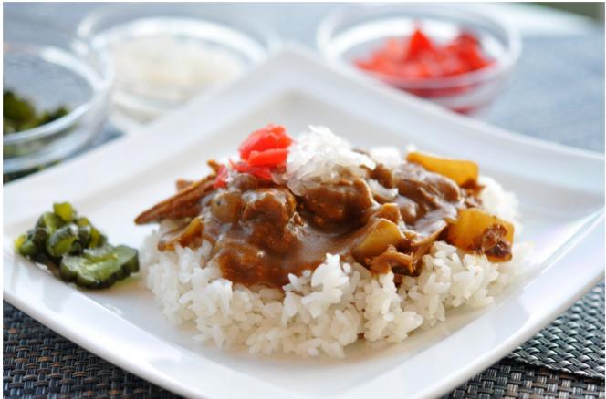 Kare Raisu - curry z ryżem i wołowiną