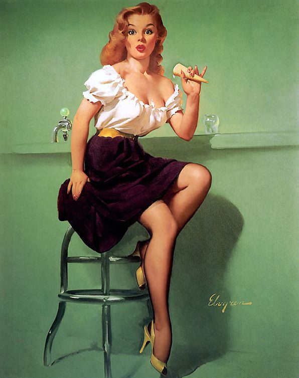 Pin Up Gril - Gil elvgren