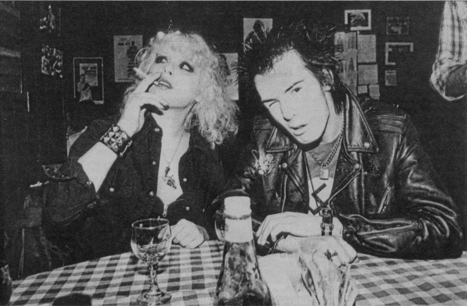 Nancy Spungen i Sid Vicious