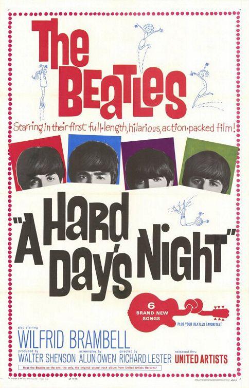 Plakat filmu Noc po ciężkim dniu.