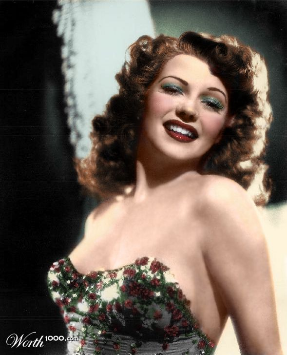 Rita Hayworth - pin-up