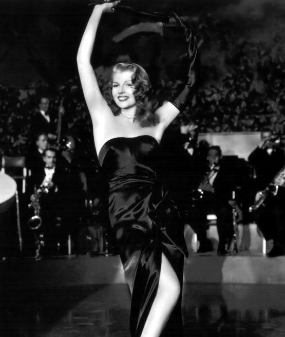 Rita Hayworth jako Gilda.