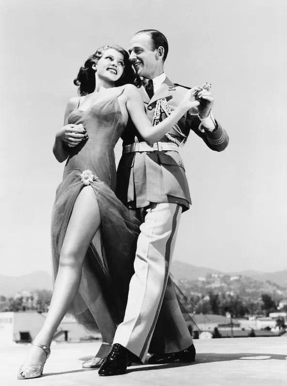 Rita Hayworth i Fred Astaire.